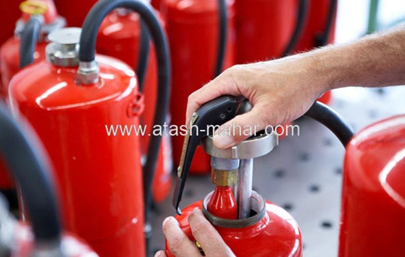 کپسول های آتش نشانی و روش های کلی استفاده از آن ها