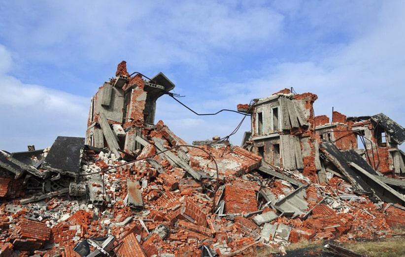نوع و میزان آسیب پذیری ساختمان ها در زلزله