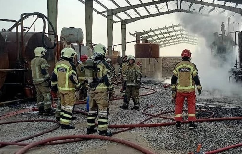 آتش سوزی در کارگاه ها
