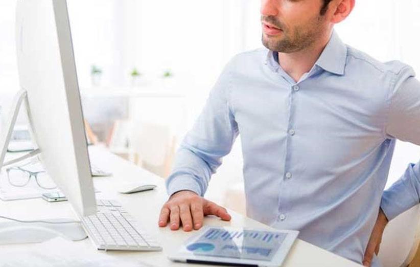 نشستن بیش از حد در محل کار یا ایستادن بیش از حد در محل کار