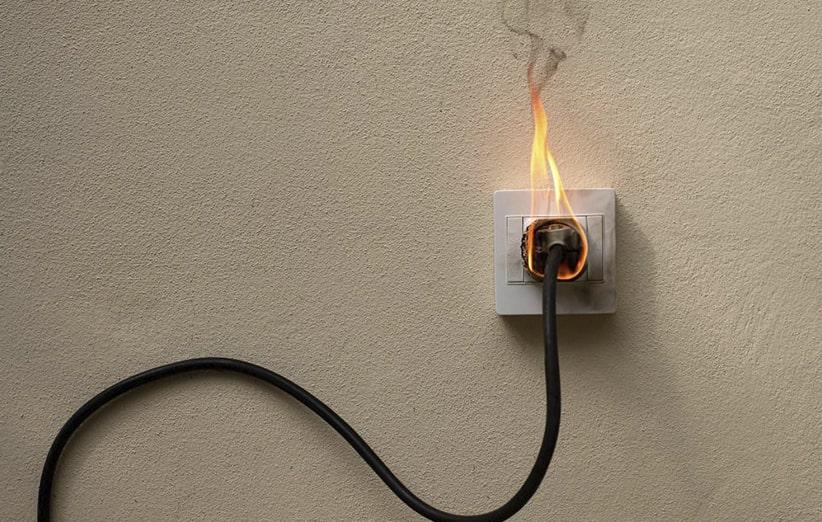 حریق های الکتریکی ناشی از اختلالات سیستم های برقی