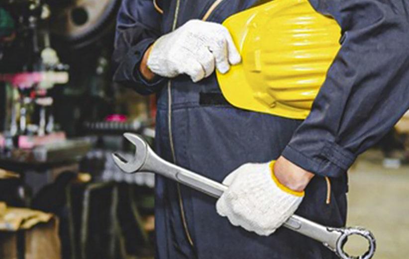 محافظت از دست ها در هنگام کار