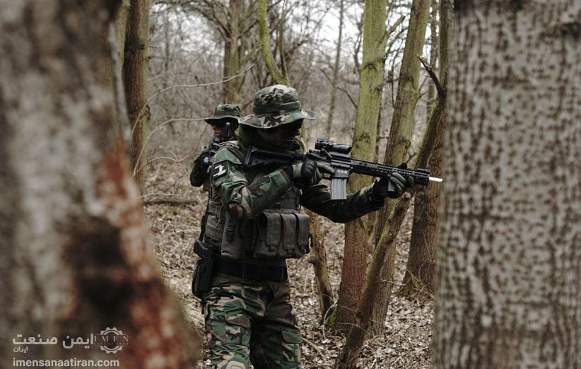 مفهوم و دلیل رنگ های لباس نظامی چیست؟