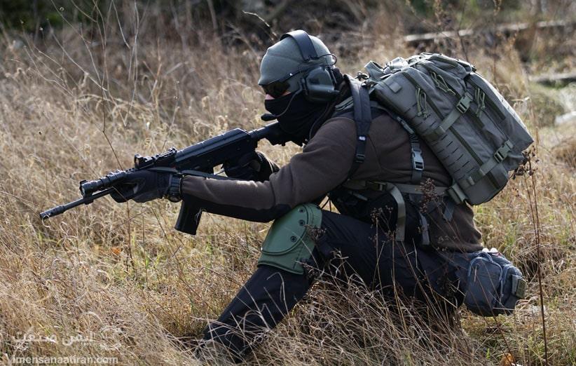 مشخصات کلی یک لباس کار نظامی استاندارد