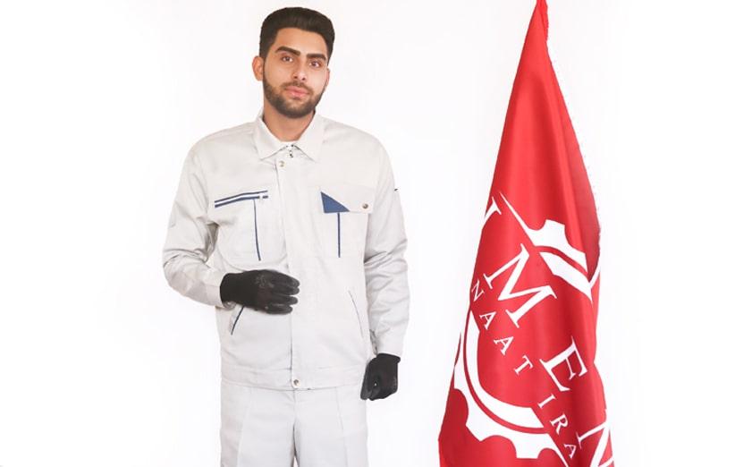 جنس پارچه لباس کار های ایمن صنعت ایران